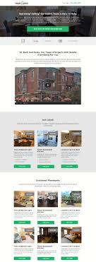 marketplace 5 real estate templates for building high converting click here to see the entire template