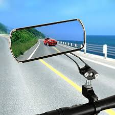 <b>1 Pair Aluminum Alloy</b> Bike Rearview Mirror 360 Degree Adjustable ...
