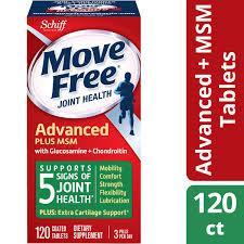 Move Free Advanced <b>Plus MSM</b>, 120 tablets - Joint Health ...
