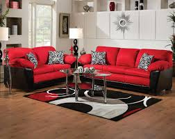 brilliant bold red and black couch set implosion red sofa amp loveseat also red sofa brilliant red living room furniture
