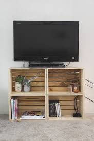 bedroom furniture contractstudentbedroomfurniture: diy crate tv stand cashmere and plaid