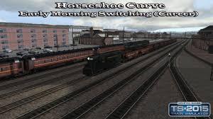 train simulator career mode horseshoe curve early train simulator 2015 career mode horseshoe curve early morning switching career part 1