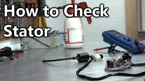 MX Tech Tips- How to check your <b>Stator Coil</b> - YouTube