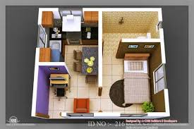Simple Bedroom House Plans   One Bedroom Home Plans        Awesome Simple Bedroom House Plans   D Small House Design