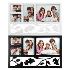 <b>Фоторамка</b> на 4 фотографии, <b>пластик</b>, 44х27см, 2 цвета, арт.17-07