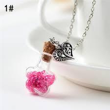 Wholesale - Fashion <b>Korean</b> necklaces drift bottle necklace <b>alloy</b> ...