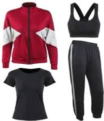 4 pcs/set gym workout clothes <b>fast dry morning running</b> suit women's ...