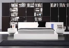 vgwcalaska modrest alaska modern white lacquer california king bed alaska black oak office desk