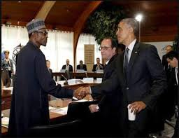 Image result for Buhari stays at U.S. President's official guest house
