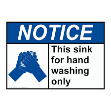 food safety kitchen signs food handling wash hands page of  safe food handling > food prep kitchen safety > sign