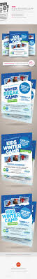 kids winter camp flyer templates by kinzi21 graphicriver kids winter camp flyer templates miscellaneous events