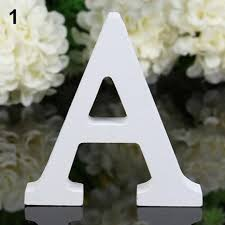 <b>New Style Creative</b> Thick Wooden Letters Alphabet Wedding ...