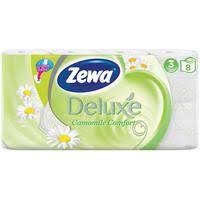 <b>Бумага туалетная Zewa Deluxe</b> 3-слойная белая с ароматом ...