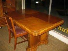 antique art deco waterfall dining room table art deco dining set