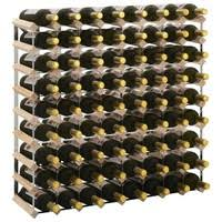 <b>Wine Rack Solid Reclaimed</b> Wood 55x23x85 cm Weinregal Wijnrek ...