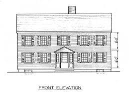 Saltbox House Plans Farmhouse Home Plans  saltbox house plans