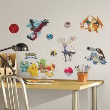 Pokemon Bedroom Decor Wall Decor Pokemon Wall Decals Home Design Interior Inspiration