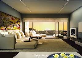 Wallpaper Decoration For Living Room Design For Living Room Zampco