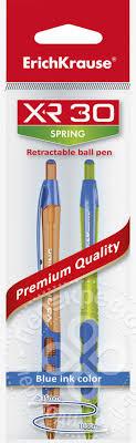 Купить <b>Ручка Erich Krause шариковая XR</b>-<b>30</b> Spring ...