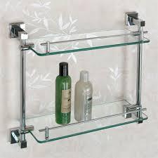 bathroom tempered glass shelf: albury tempered glass shelf two shelves