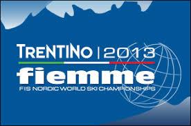 Calendario gare Mondiali Fiemme 2013