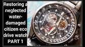 Citizen Watch Setting Instructions — W770 - YouTube