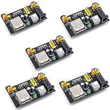 Willwin <b>5pcs</b> Breadboard <b>Power Supply</b> Module 3.3V/<b>5V</b> for Arduino ...