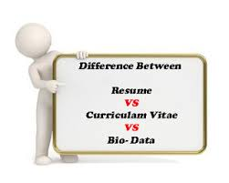 Resume Vs Cv Vs Bio Data Difference Resume Cv. Geeknic.co resume vs cv vs bio data .