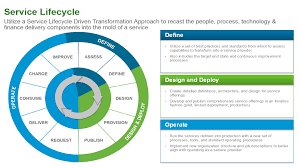 project orientation vs service orientation vmware the service life cycle