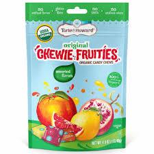 Torie & Howard Chewie Fruities <b>Organic</b> Assorted Flavors <b>Candy</b> ...