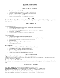 communication and organizational skills resume effective resume writing
