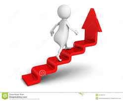 d people climb up the ladder on the arrow stock photo image white 3d man steps up on success ladder arrow royalty stock image
