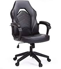 Fabric - Faux Leather / Home Office Chairs / Home ... - Amazon.com