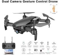 KEELEAD M69G FPV <b>RC Drone 4K 1080P</b> WiFi <b>HD</b> Dual Cameras ...