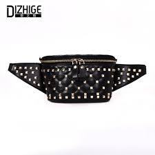 <b>DIZHIGE Brand Fashion Women</b> Waist Bag PU Leather Shoulder ...