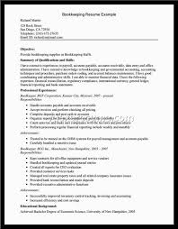 bookkeeper sample resumes alexa resume sample bookkeeper resume cover letter sample bookkeeper resume objective sample resume for bookkeeper