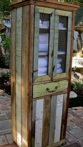 country themed reclaimed wood bathroom storage: reclaimed wood furniture cabinet handcrafted shabby french country chic decor love