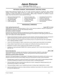 resume examples engineering resume example sample for mechanical gallery of objective statement for engineering resume