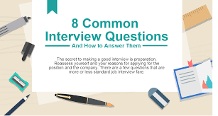 8 common interview questions and how to answer them 8 common interview questions thumbnail how to answer common interview questions jobs tips