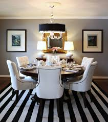 White Dining Room Chairs Unique Black And White Dining Room Chairs For Home Design Ideas