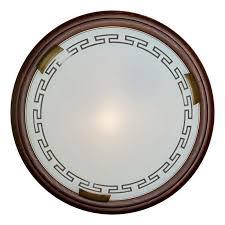 Настенно-потолочный <b>светильник Sonex 360</b>, бронза