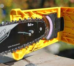 <b>Chainsaw Teeth Sharpener Sharpens</b> Your Chainsaw In Seconds