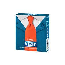 <b>Vizit презервативы</b> Large (увеличенный размер), <b>№3</b> ...