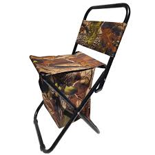 Fishing Chair Bag Camping Picnic Folding Cooler Chair Stool ...