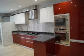 modular kitchen colors: stainless steel modular kitchens beauty and ease