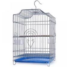 <b>1PCS</b> budgerigar <b>bird</b> cage large <b>stainless steel</b> electroplating cage ...