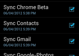 How to sync Contacts on Android with Gmail Account