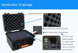 <b>Waterproof Protective safety case</b> Toolbox Equipment suitcase ...