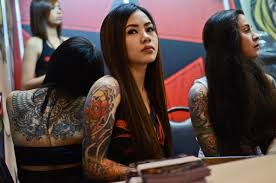 Image result for the sad dayak girls from indonesia