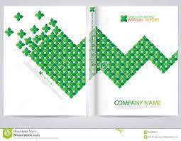 annual report cover design stock vector image  annual report cover design
